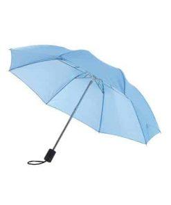 billigt ljusblåa mini paraply