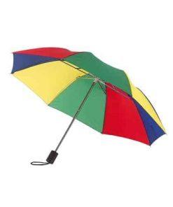 Billigt regnbåge mini paraply