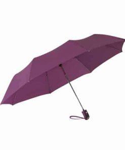 automat paraply lila