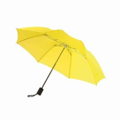 kompakt gult paraply