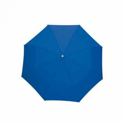 mörkblåa paraplyet