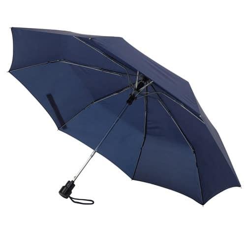 mini mörkblåa paraply