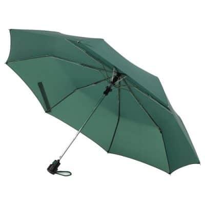 mini paraply mörkgrön