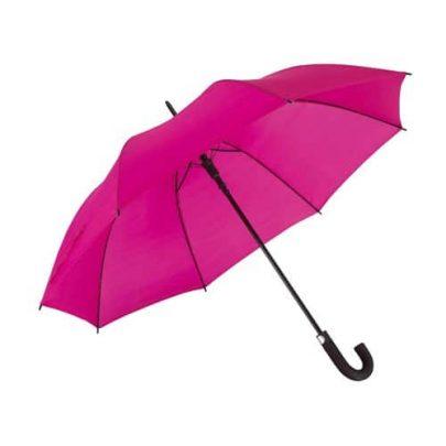 stortmörkrosa paraplyet