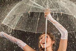 Bröllop paraply