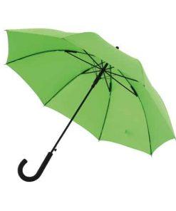 Grön paraplyet