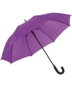 Lila paraplyet