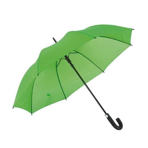 Automatiska ljusgrönt paraplyet grönt som gräset - Luna