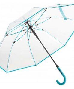 stort genomskinligt paraply