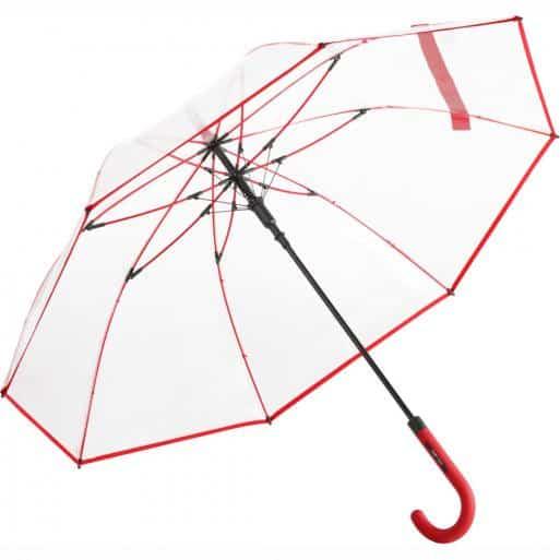 Genomskinligt paraply röd frakten är gratis - Nevada