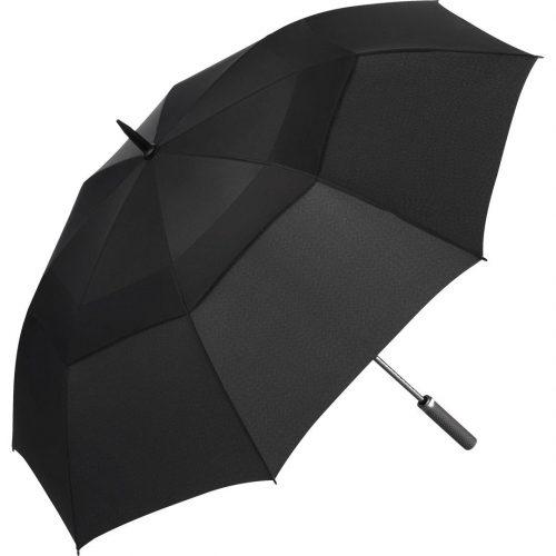 Svarta golf paraply fakten alltid är helt gratis - Nicholas