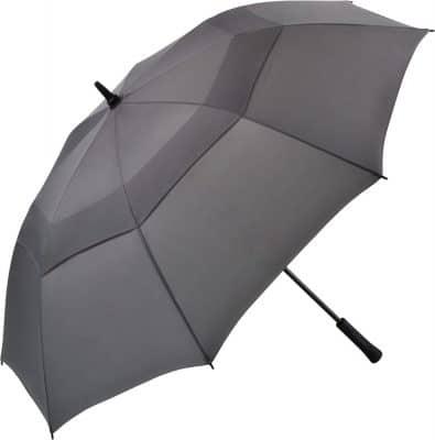grått golfparaplyet