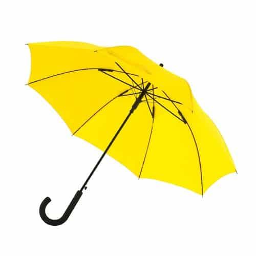 Gula paraplyet stilfullt och snyggt paraply med stark färg! - Maggie