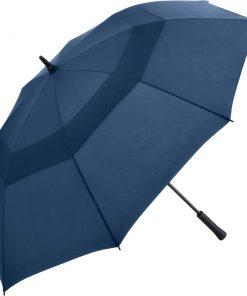 navy blåa golfparaplyet
