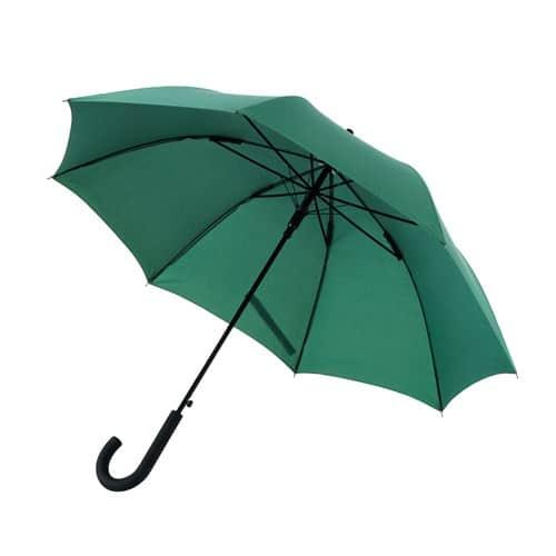Paraply online stort mörkt grönt paraply - Maggie