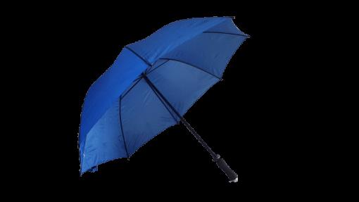 royal blått golfparaply