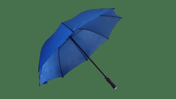 Royal blått golfparaply vackert & stilfullt fri frakt - Jeannett