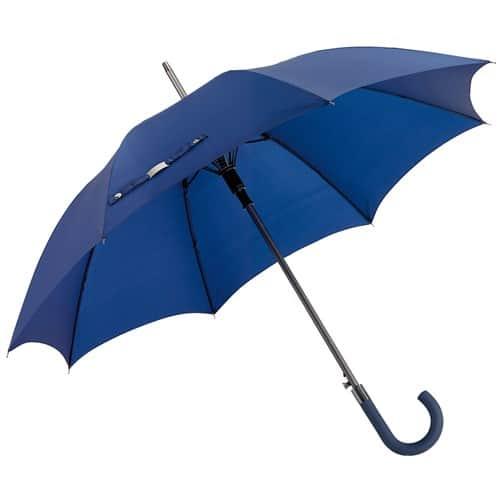 Stort blått paraply som är vindsäkert fri frakt - Jubii