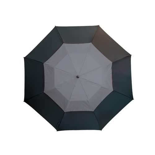 Stort grått paraply vindsäkert och fri frakt - Herkules