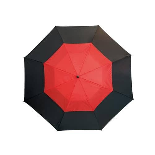 Stort röd paraply ett paraply med stil - Herkules