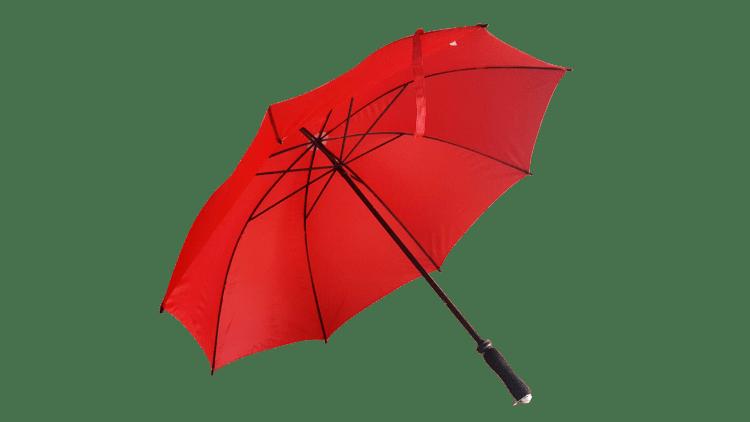 Stort rött golfparaply diameter 125 cm fri frakt - Jeannett