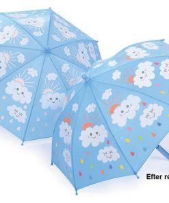 paraply skiftar färg