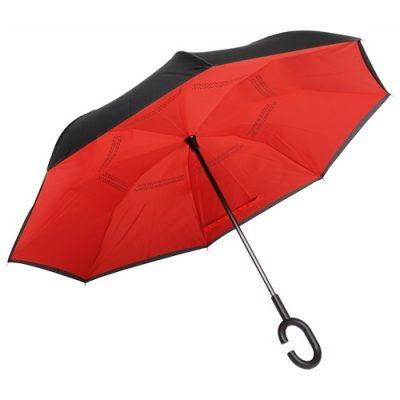 Paraply omvänd stängning