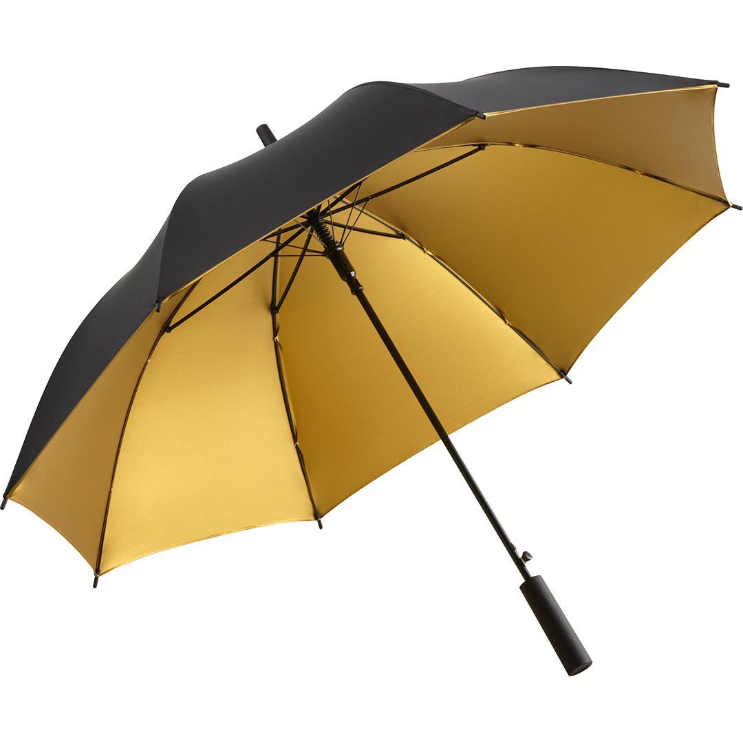 Guld & Svarta lyxparaplyet och fri frakt - Luxury