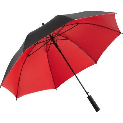röda lyxparaplyet