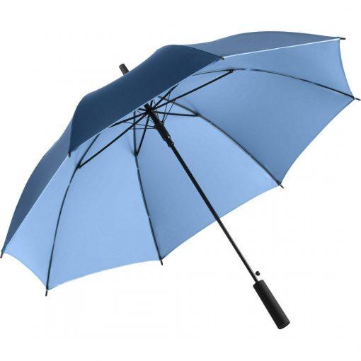 köp ett ljusblått lyxparaply