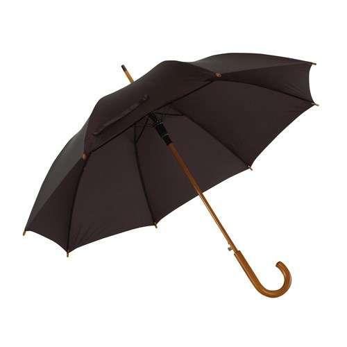 svart herreparaply