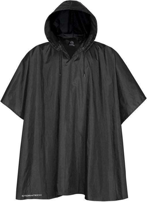 svart regnkläder