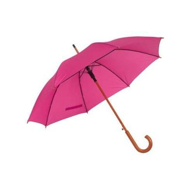 mörkrosa paraply