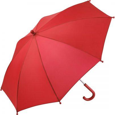 rött barnparaply