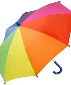 regnbågsfärgat barnparaply