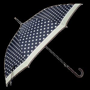 paraplyet med prickar