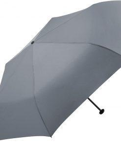 Grått mini paraply