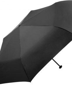 Ultralätt svart paraply