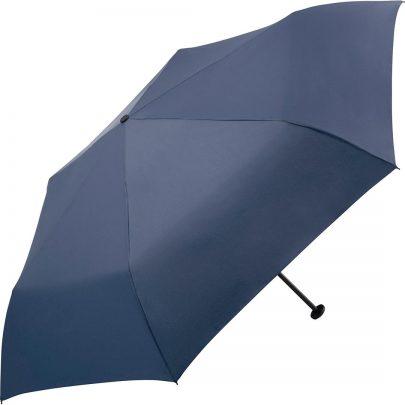liten navy blått paraply