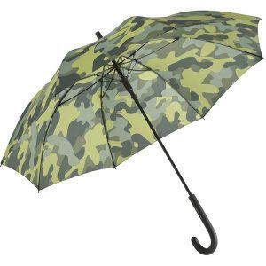 Grönt camouflage paraply
