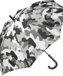 gråa camouflage pinnparaplyet