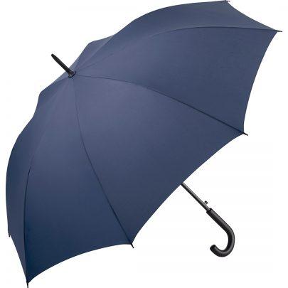 Navyblåa paraplyet