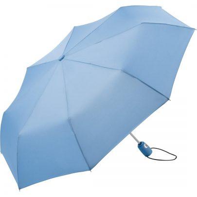 ljusblåa paraply