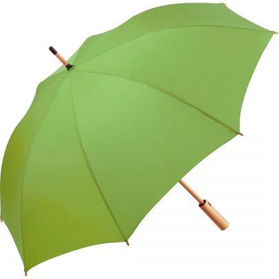 grön återvinningsparaply