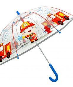 Barnparaply med brandman